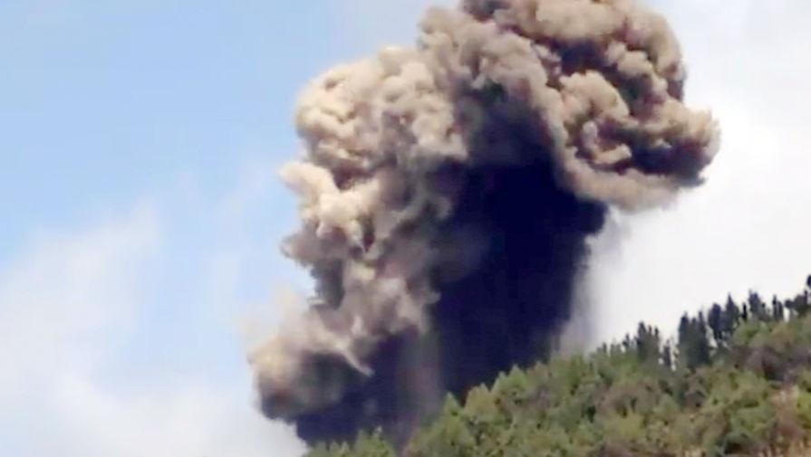 На острове Пальма в Испании произошло извержение вулкана