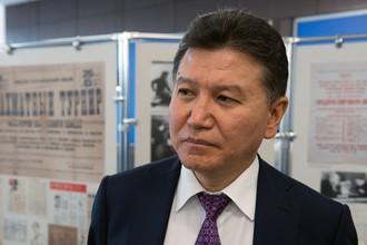 Президент ФИДЕ Кирсан Илюмжинов