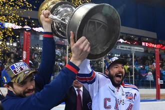 Питерский СКА победил магнитогорский «Металлург» в финальной серии Кубка Гагарина со счетом 4-1