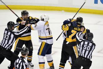 «Нэшвилл Предаторз» принимает на своей арене «Питтсбург Пингвинз» в шестом матче финальной серии Кубка Стэнли