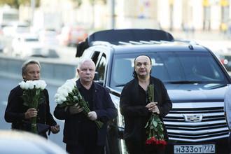 Певец Борис Моисеев перед церемонией прощания с Иосифом Кобзоном в Москве, 2 сентября 2018 года