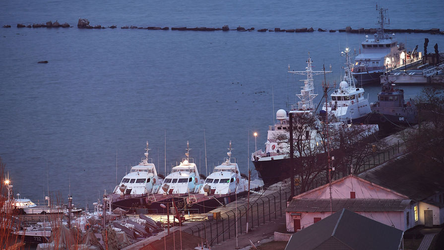 Завершено следствие по украинским морякам