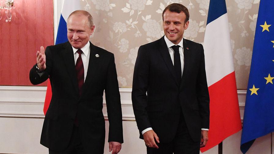 Макрон заговорил о новом партнерстве с Россией