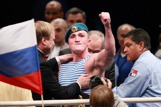 Лебедев будет драться в Москве в третий раз подряд