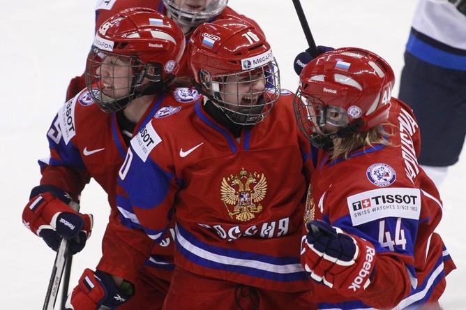 Только что россиянки открыли счет в матче
