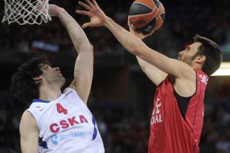 ЦСКА поставил точку в серии с «Каха Лаборал» победой со счетом 94:85.