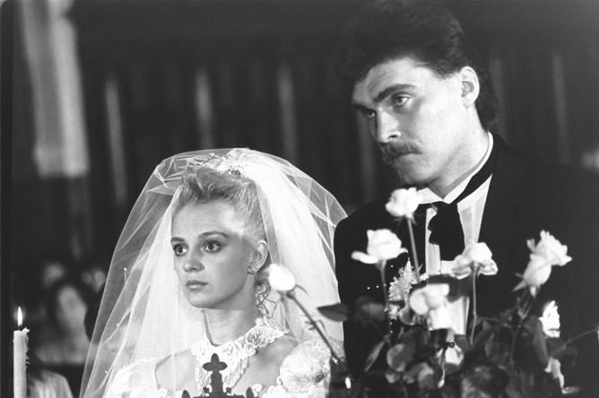 1990 год. Свадьба Арвидаса Сабониса и Ингрид Микелионите — обладательницы титула «Вильнюсская красавица-88»