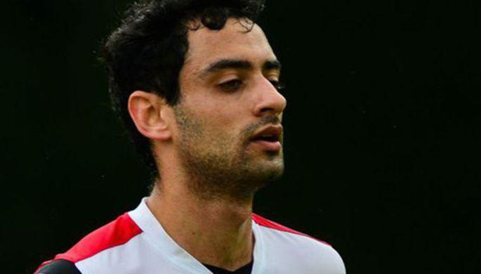 Бразильский футболист Даниэл Фрейтас