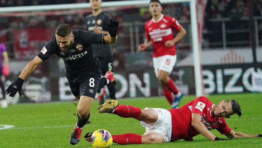 Футболист Спартака Кутепов получил травму в матче против Арсенала