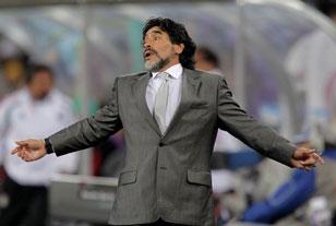 Марадону ждали в Португалии