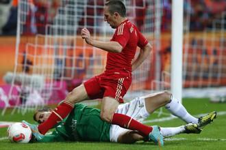 Первый гол в ворота «Айнтрахта» забил Франк Рибери