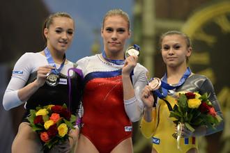 Ксения Афанасьева выиграла золото на чемпионате Европы