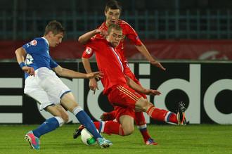 Ничья с Италией вывела команду Дмитрия Хомухи в полуфинал Евро
