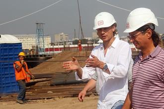 Карпин дает профессиональные советы по строительству стадиона «Спартак»