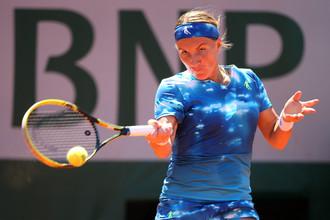 Светлана Кузнецова вышла во второй раунд турнира в Токио