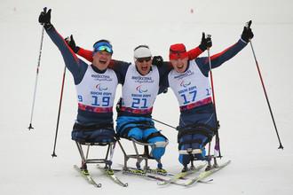 Вся Россия ждет от наших лыжников и лыжниц новых медалей в пятый день сочинской Паралимпиады 2014