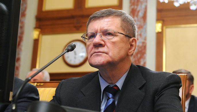 Генеральный прокурор РФ Юрий Чайка на заседании правительства РФ