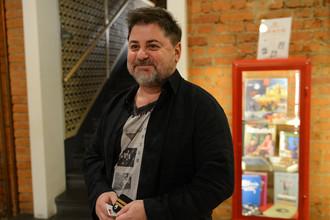 Актер и певец Александр Цекало на презентации сериала «Распутин» в кинотеатре «Пионер», 2014 год