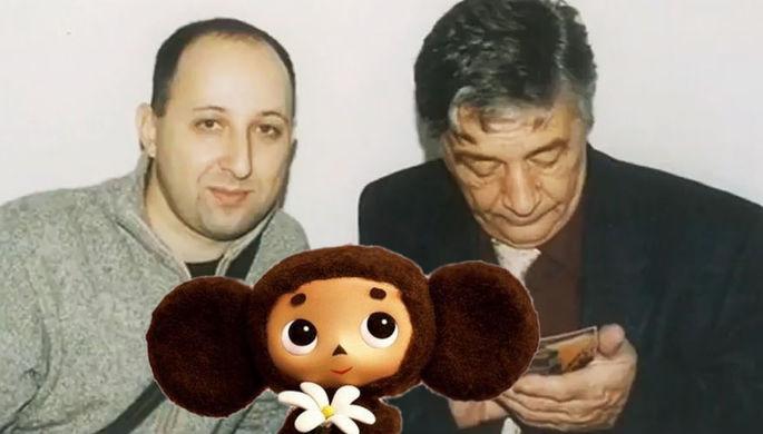 Валентин Постников и Эдуард Успенский (кадр из видео)