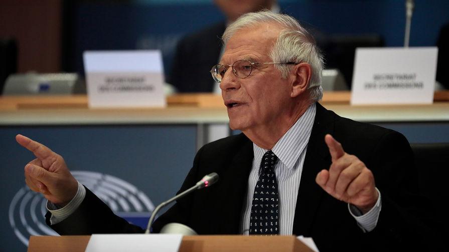 Жозеп Боррель во время слушаний в Европарламенте, 7 октября 2019 года