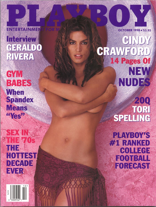 Синди Кроуфорд на обложке Playboy, 1998 год