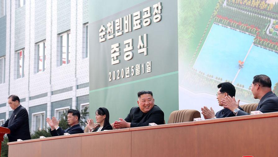 Странная церемония: Ким Чен Ын появился на публике
