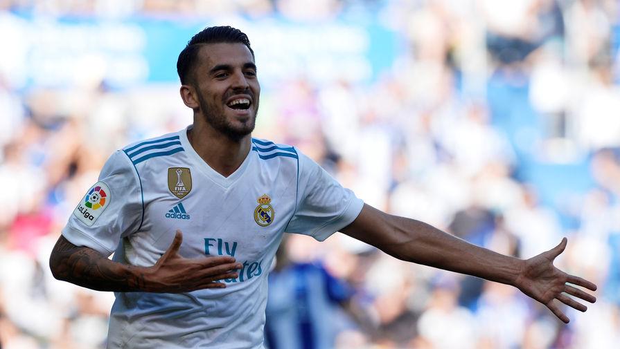 Полузащитник мадридского «Реала» Дани Себальос забил два мяча «Алавесу» в первом тайме