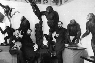 Основатели дарвиновского музея, 1912 год