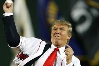 Новый президент США Дональд Трамп неравнодушен к спорту