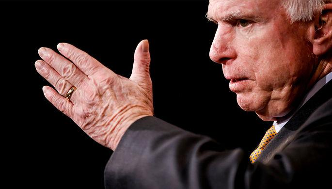 Сенатор США Маккейн решил прекратить дальнейшее лечение рака мозга