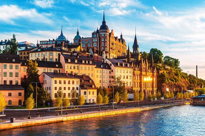 9-е место — Швеция. На фото: Сёдермальм — один из районов Стокгольма