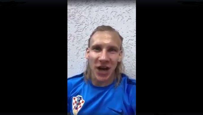 Видеозаявление Домагоя Виды