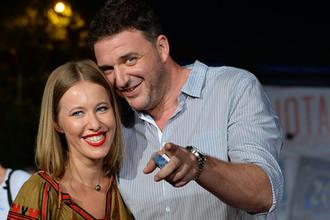 Ксения Собчак с бывшим мужем актером Максимом Виторганом