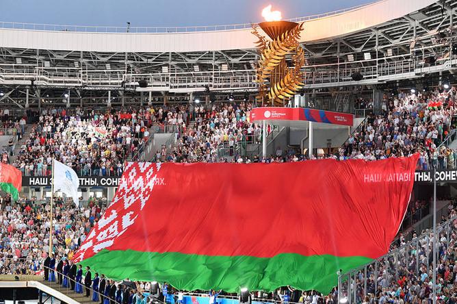 Церемония закрытия II Европейских игр в Минске, 30 июня 2019 года