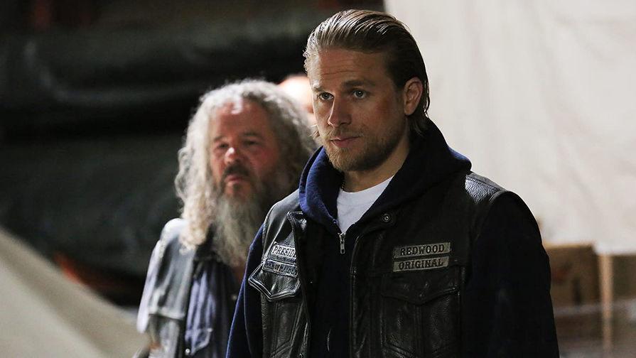 Кадр из сериала «Сыны анархии» (2008- 2014)