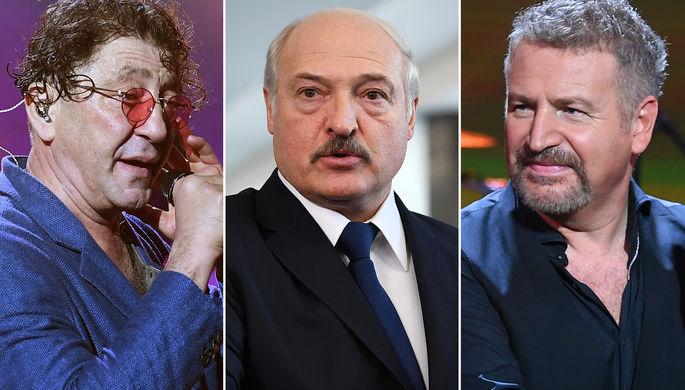 «Не едем»: в Белоруссии отменили «предвыборные» концерты россиян