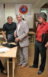Ткаченко, Ярцев и Ирхин. 2006-й год