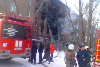 Число погибших при пожаре в доме в Энгельсе возросло до пяти человек