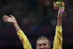 Представительница Казахстана Ольга Рыпакова выиграла тройной прыжок