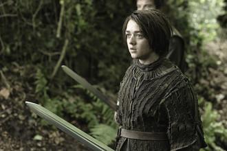 Мэйси Уильямс в роли Арьи Старк в сериале «Игра престолов»