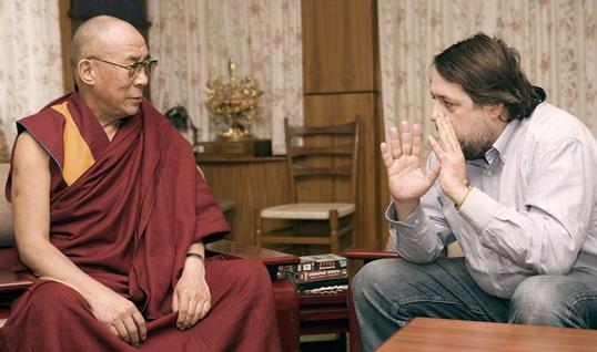 Виталий Манский и Далай-лама