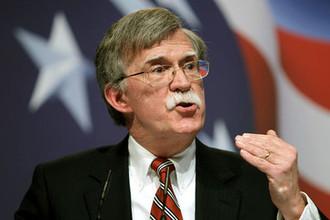 Джон Болтон, советник президента США по национальной безопасности с 9 апреля 2018 года