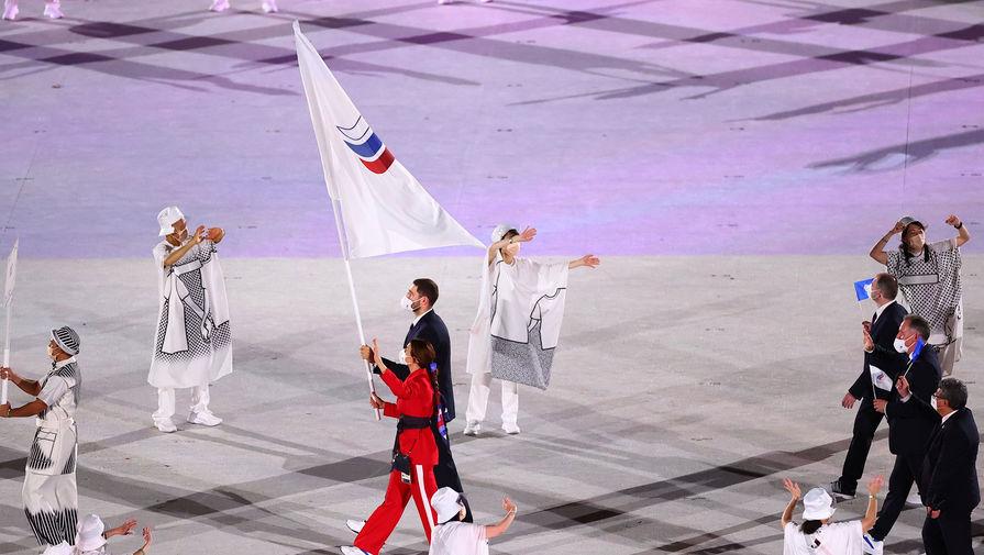 Команду ОКР назвали сборной России на открытии Игр в Токио