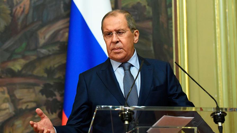 Лавров посчитал заявление Зеленского о войне с Россией не заслуживающим внимания