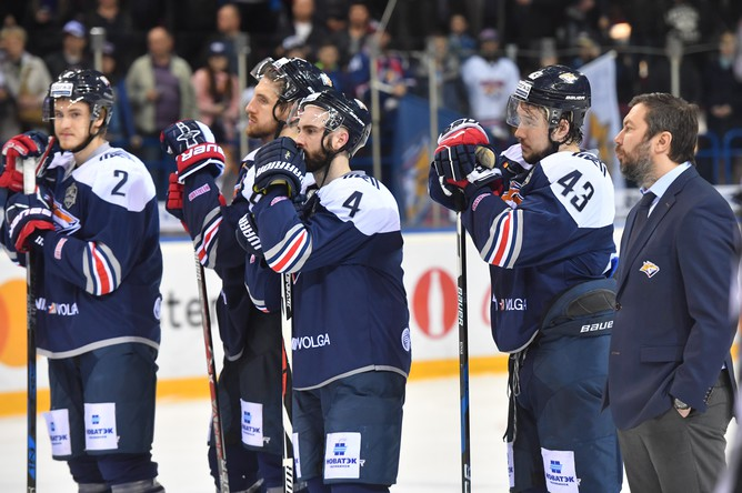 Магнитогорский «Металлург» проиграл в финальной серии Кубка Гагарина питерскому СКА с общим счетом 1-4