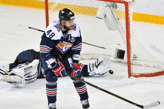 Хоккеист «Металлурга» Евгений Бирюков