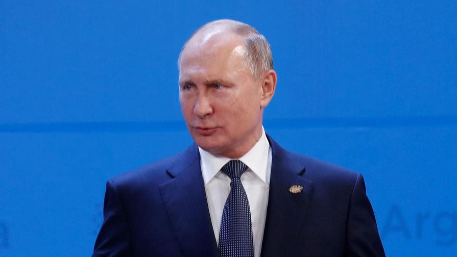 Президент России Владимир Путин насаммите G20, 30 ноября 2018 года