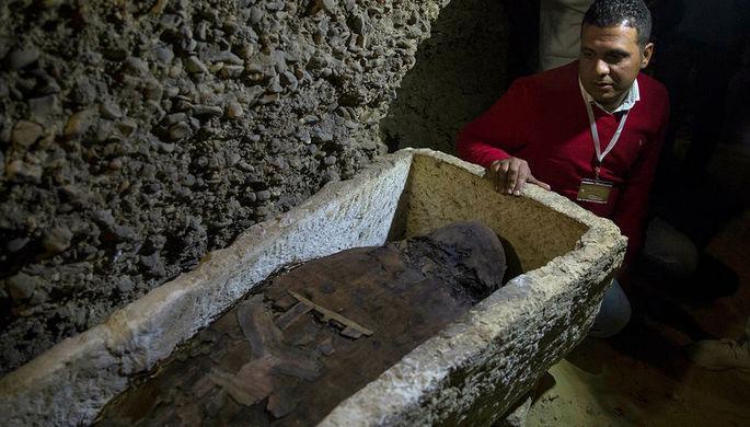 Скелет неизвестной девочки найден в заброшенной гробнице