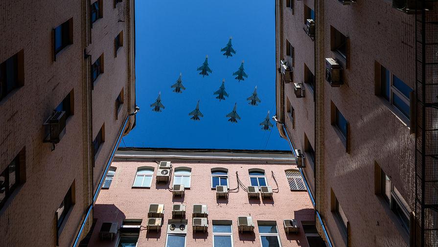 Вместо парада: 12 городов увидят полет боевой авиации