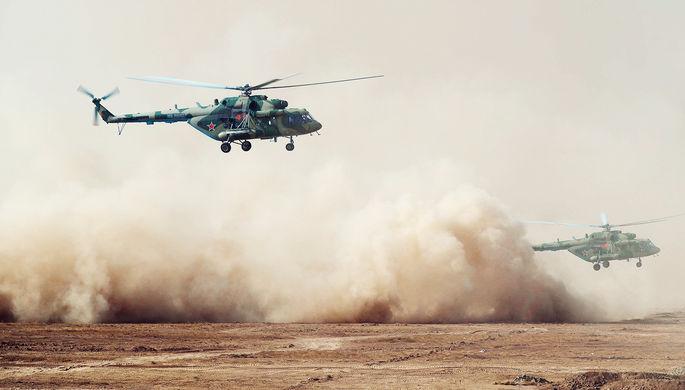Вертолетом в Африку: Россия поставит технику в ЦАР